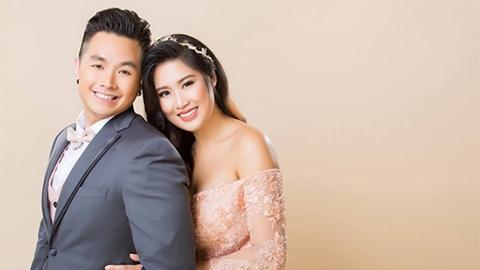 Con gái NSND Hồng vân và chồng Việt Kiều khiêu vũ trong đám cưới