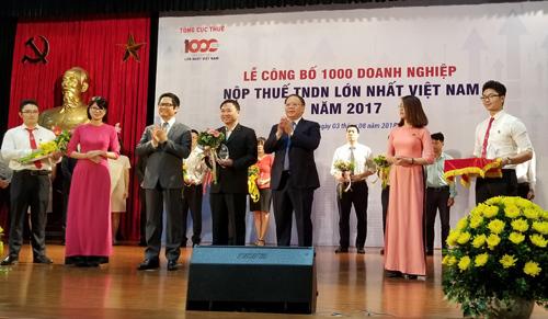 FrieslandCampina VN - Top 100 DN nộp thuế lớn nhất VN 2017