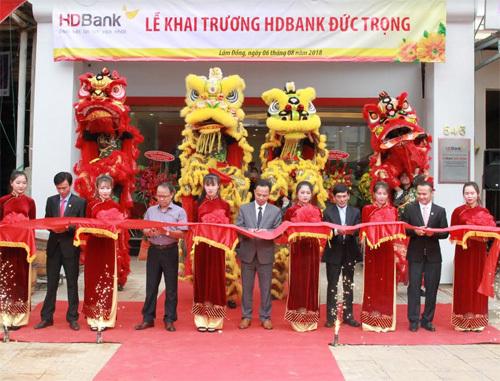 HDBank thêm điểm giao dịch ở Lâm Đồng và Kiên Giang