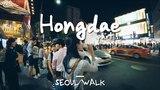 Karaoke ở phố đi bộ Seoul, ai đi qua nghe được cũng phải nổi da gà vì quá hay