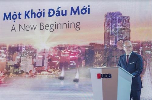 UOB khai trương ngân hàng con tại Việt Nam