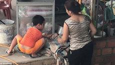 Video cậu bé Việt cứu vịt lên báo Anh