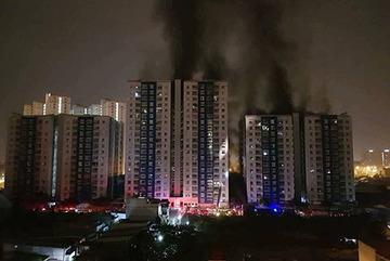 Vụ cháy chung cư Carina Plaza: Bắt tạm giam trưởng ban quản lý
