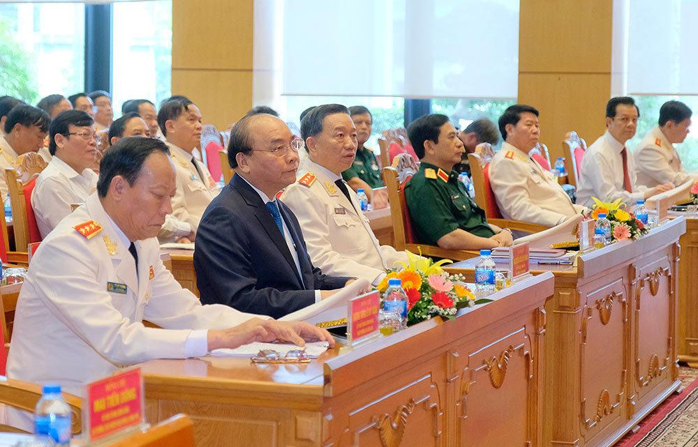 Thủ tướng: Tập trung cao xây dựng đội ngũ công an nhân dân vừa hồng, vừa chuyên, vì nhân dân phục vụ