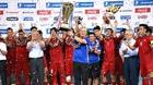 Hòa Uzbekistan, U23 Việt Nam vô địch Cúp tứ hùng