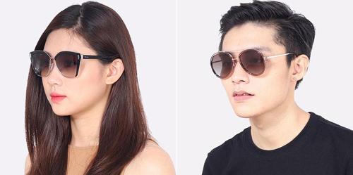 Sắm kính mắt thời trang giảm giá đến 30%