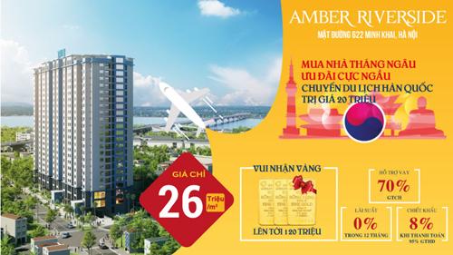 Mua nhà Amber Riverside, vi vu Hàn Quốc