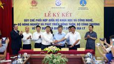 Ký kết quy chế xây dựng và quản lý chỉ dẫn địa lý Việt Nam