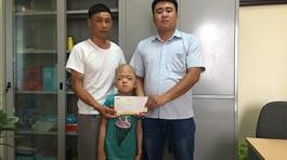 Bạn đọc thắp lên hy vọng cho bé Hà Thị Hương Cúc