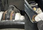 Ô tô Honda mới đi đã bị gỉ sét gầm xe