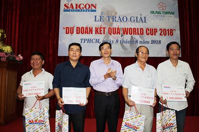Báo SGGP trao giải vui cùng World Cup