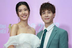 Á hậu Thuý Vân bủn rủn tay chân vì đóng phim với trai đẹp Anh Tú