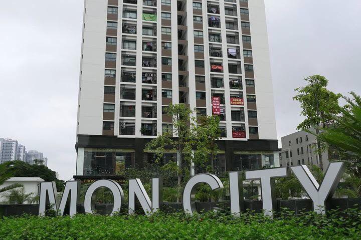 tranh chấp chung cư,phong trào căng băng rôn,thiếu diện tích,HD Mon,Mon City,diện tích thông thuỷ