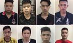 Hà Nội: Gần 100 đối tượng lái ô tô chở 'hàng nóng' đi hỗn chiến