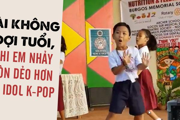 Tài không đợi tuổi, cậu bé nhảy Bboom Bboom dẻo hơn Idol K-pop