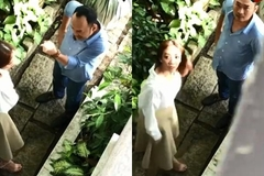 Thu Trang bị nghi cãi nhau với Tiến Luật vì ngoại tình