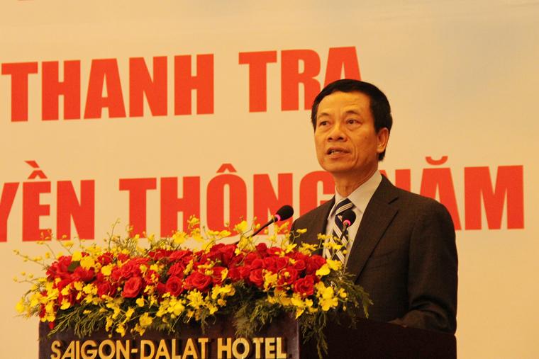 Ngành Thanh tra mang trên vai trọng trách giúp lĩnh vực TT&TT phát triển bền vững