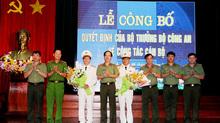 Bộ trưởng Công an bổ nhiệm 5 Phó Giám đốc Công an tỉnh, thành
