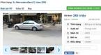 Mua mới gần 2 tỷ, nay chiếc Mercedes cũ này có giá chỉ 280 triệu
