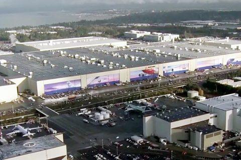 nhà máy Boeing