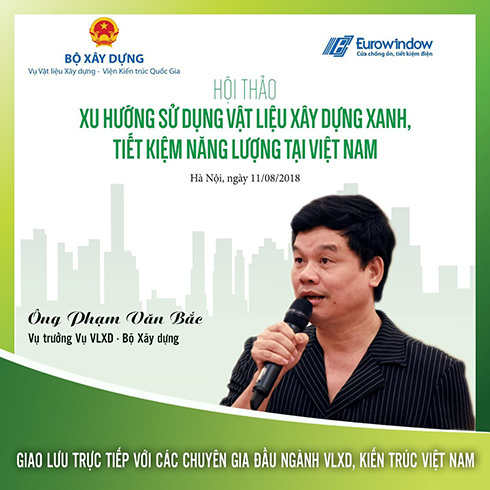 Xu hướng sử dụng vật liệu xanh tại Việt Nam