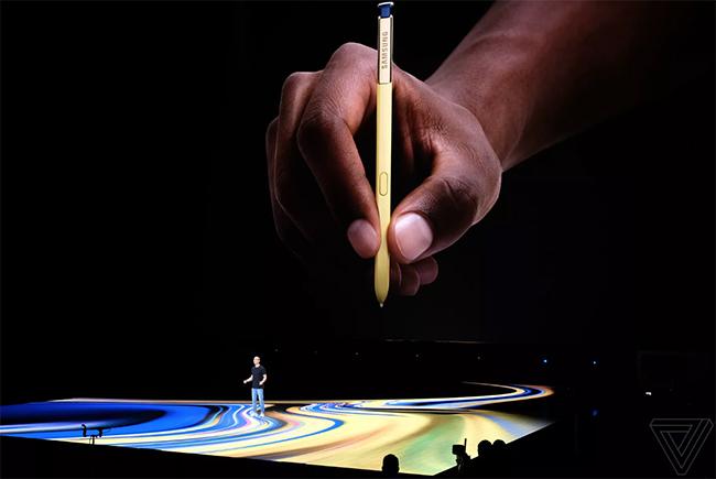 Những công nghệ siêu tối tân vừa xuất hiện trên chiếc Galaxy Note 9