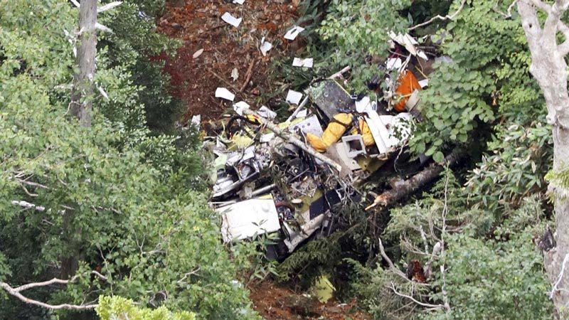 Nhật,rơi trực thăng,tai nạn hàng không,cứu hộ