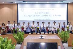 Chủ tịch UBND Hà Nội bổ nhiệm, bổ nhiệm lại 17 lãnh đạo Sở ngành
