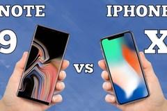 So sánh Galaxy Note 9 và iPhone X: Ai mới là vua thế giới smartphone?