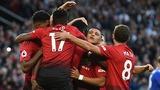 Video bàn thắng MU 2-1 Leicester
