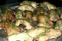 Thịt chuột ép lá chanh: Nhìn thì ghê, không dành cho người yếu bóng vía