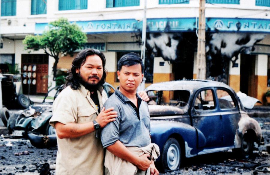 Lê Quang trong phim