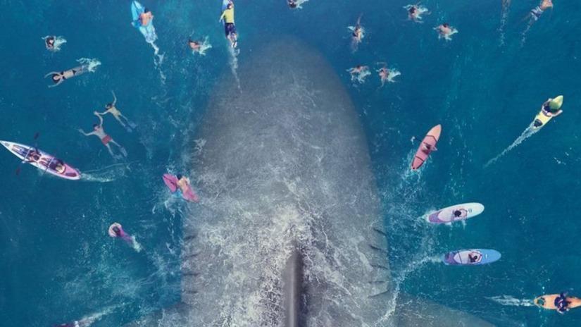 'Cá mập siêu bạo chúa': Căng thẳng, hài hước đan xen
