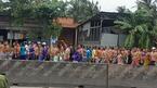 Hàng trăm học viên cai nghiện trốn trại, 'diễu hành' trên quốc lộ