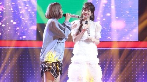 Hari Won và thí sinh song ca ăn ý trong ca khúc Có chăng chỉ là giấc mơ