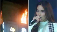 Hồ Ngọc Hà dừng hát vì cháy ở tòa nhà Diamond Plaza