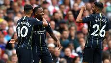 Video bàn thắng Arsenal 0-2 Man City