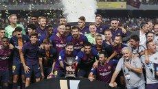 Messi tịt ngòi, Barca chật vật giành Siêu Cúp