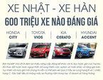 Ô tô Nhật - Hàn 600 triệu đồng, xe nào đáng giá?