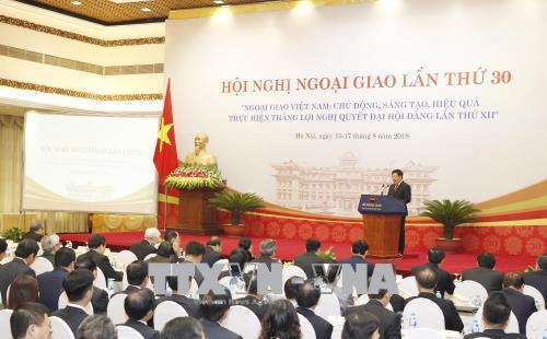 Tổng bí thư: Phía sau nhà ngoại giao là Đảng, đất nước và nhân dân