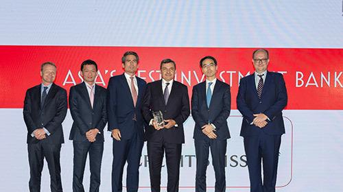 Credit Suisse lại nhận giải Ngân hàng đầu tư tốt nhất Việt Nam