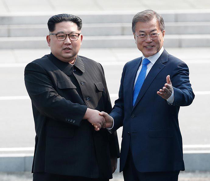 Lãnh đạo Hàn - Triều 'chốt' gặp thượng đỉnh ở Bình Nhưỡng