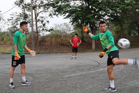 U23 Việt Nam tập luyện