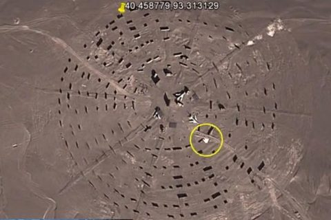 căn cứ quân sự mật ở Gobi