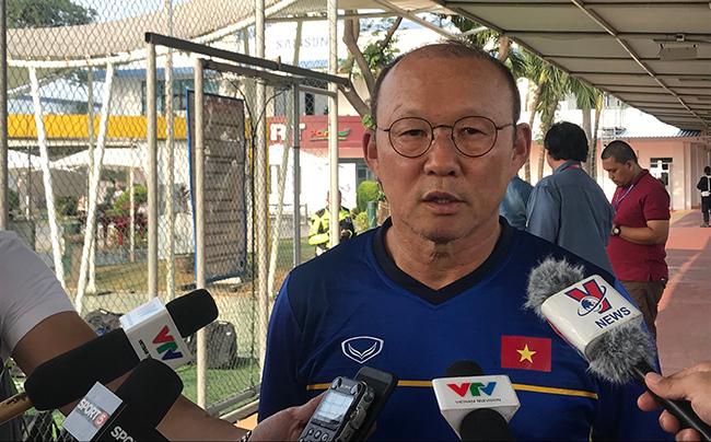"""HLV Park Hang Seo: """"U23 Việt Nam không muốn CĐV Việt Nam thất vọng!"""""""