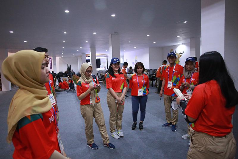 Indonesia hối hả trước ngày khai mạc Asiad 2018