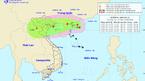 Dự báo thời tiết 14/8: Tâm bão nằm trên vùng biển Quảng Ninh-Nam Định