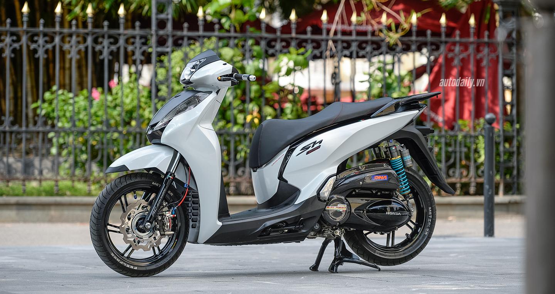 Honda SH300i độ 'khủng' có giá trị gần 500 triệu tại Hà Nội