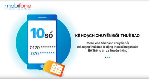 MobiFone sẵn sàng chuyển đổi đầu số thuê bao 11 số