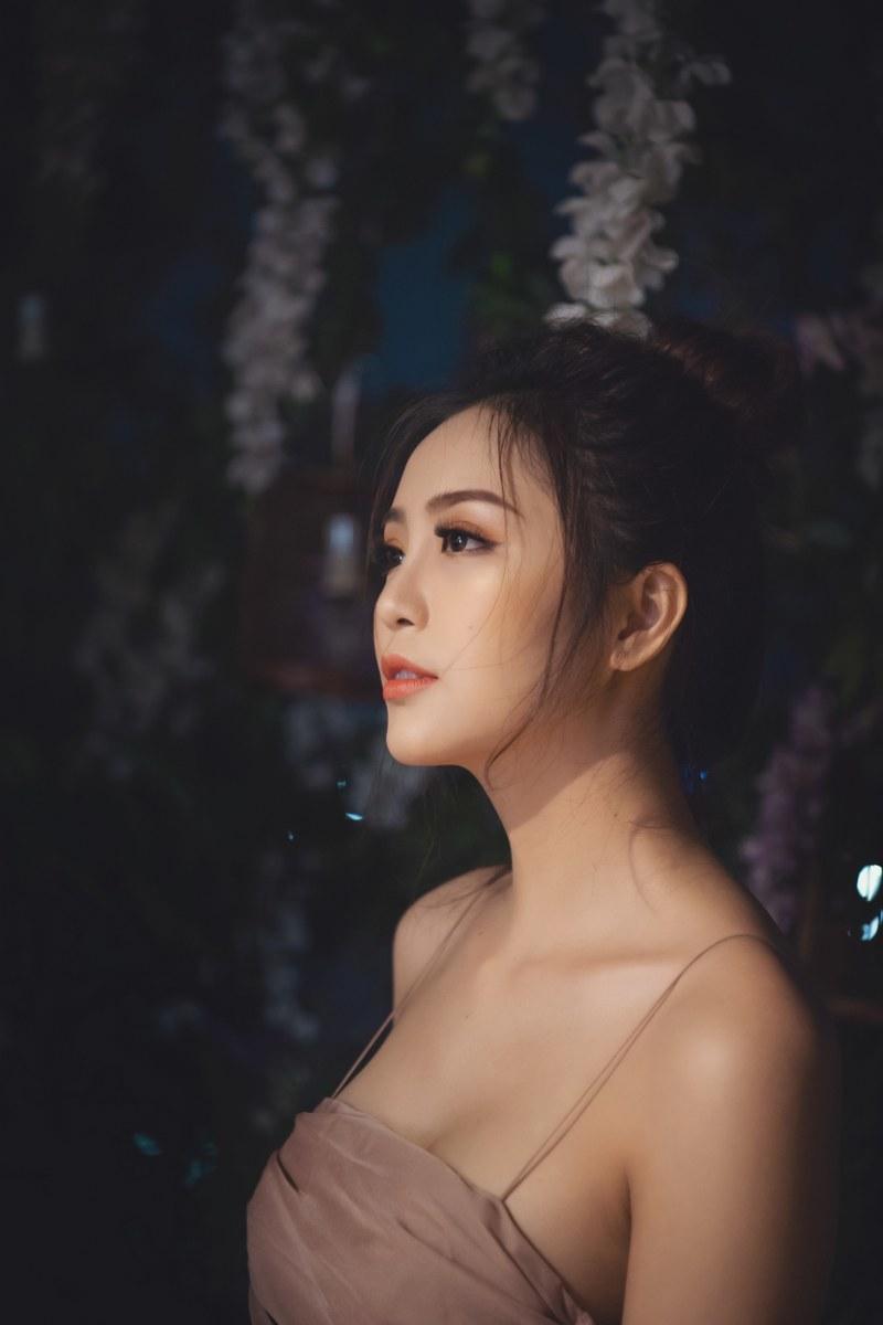 Nhan sắc mong manh, quyến rũ của Hoa khôi Nam Bộ Hải Yến